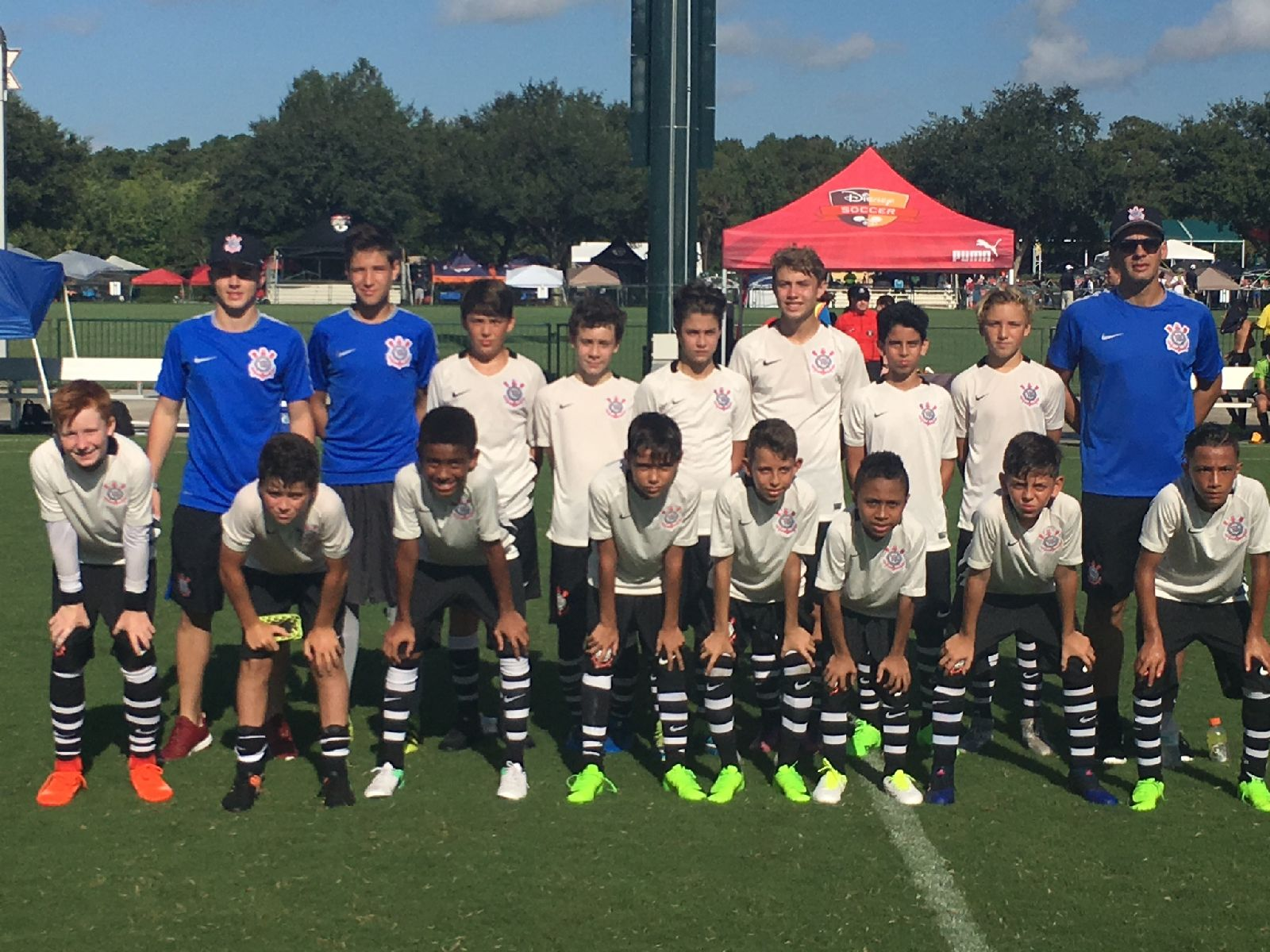 FKK - Brazil Another great FKK opportunity! Five of our 04 Kraze boys guest played with  the Corinthians of Brazil at the Disney International Tournament.