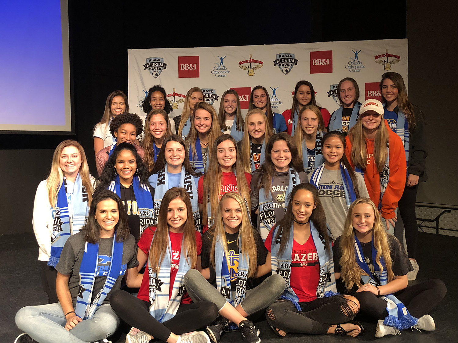 FKK Commits 31 Athletes with the NCAA Programs Today