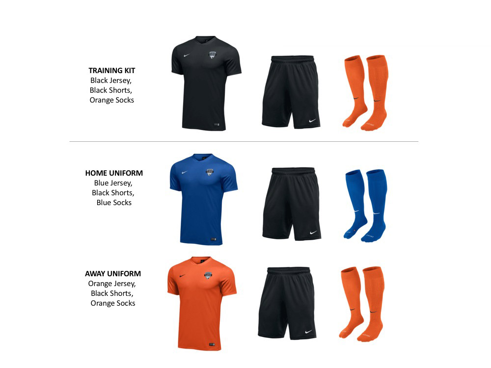 2019 2021 Uniform Kits CompRecFTD